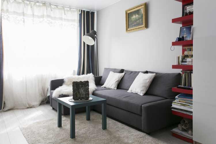 Интерьер квартиры хрущевки двухкомнатной