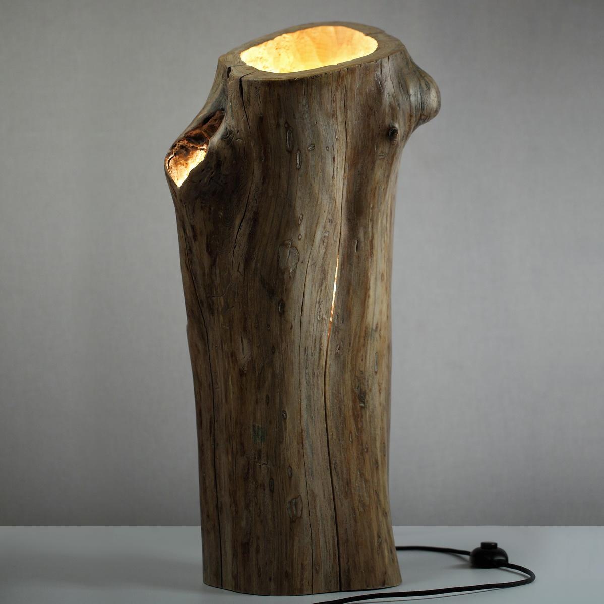 Торшер напольный из дерева своими руками фото
