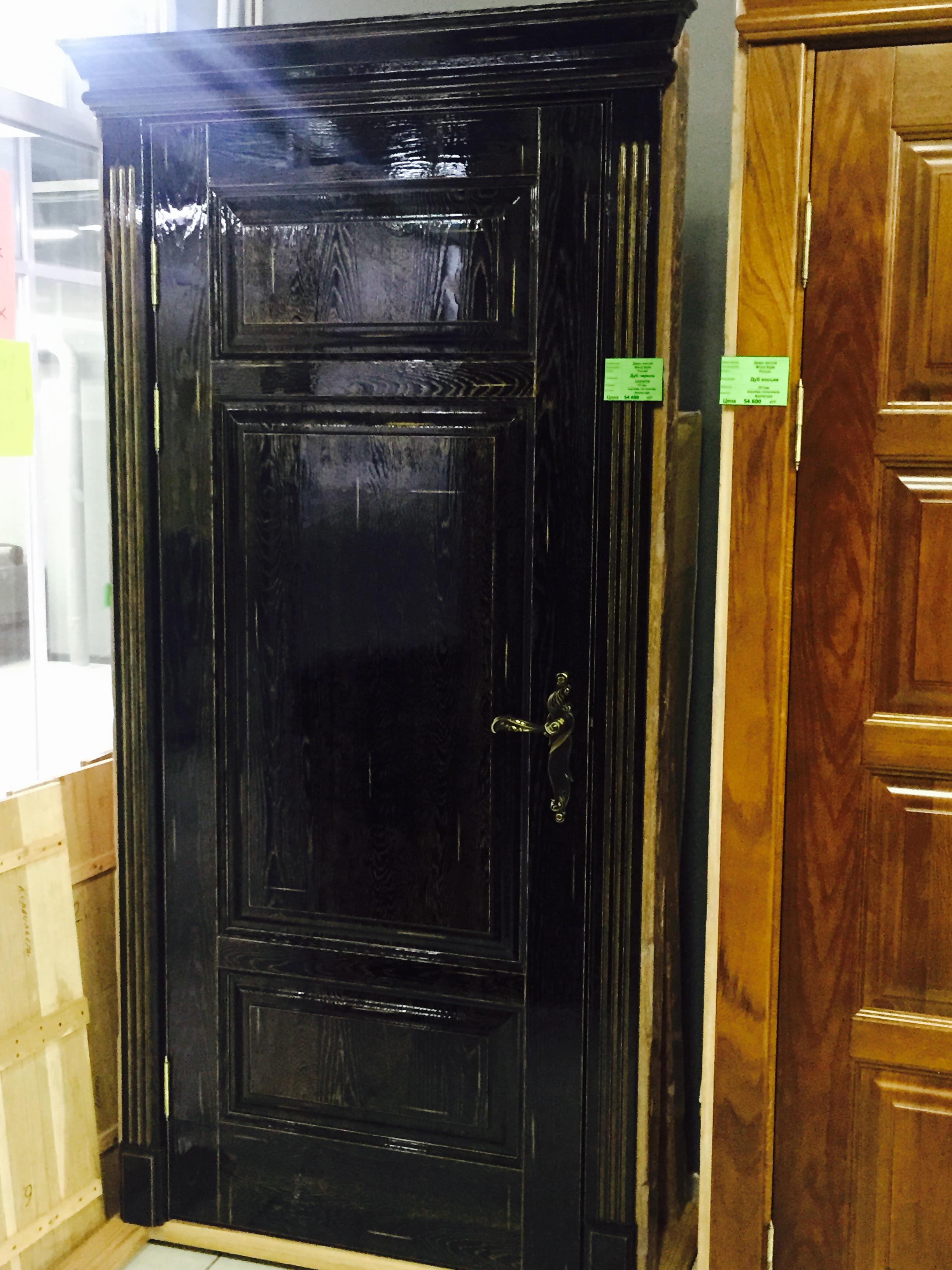 Сравним двери из массива сосны и экошпона Основные