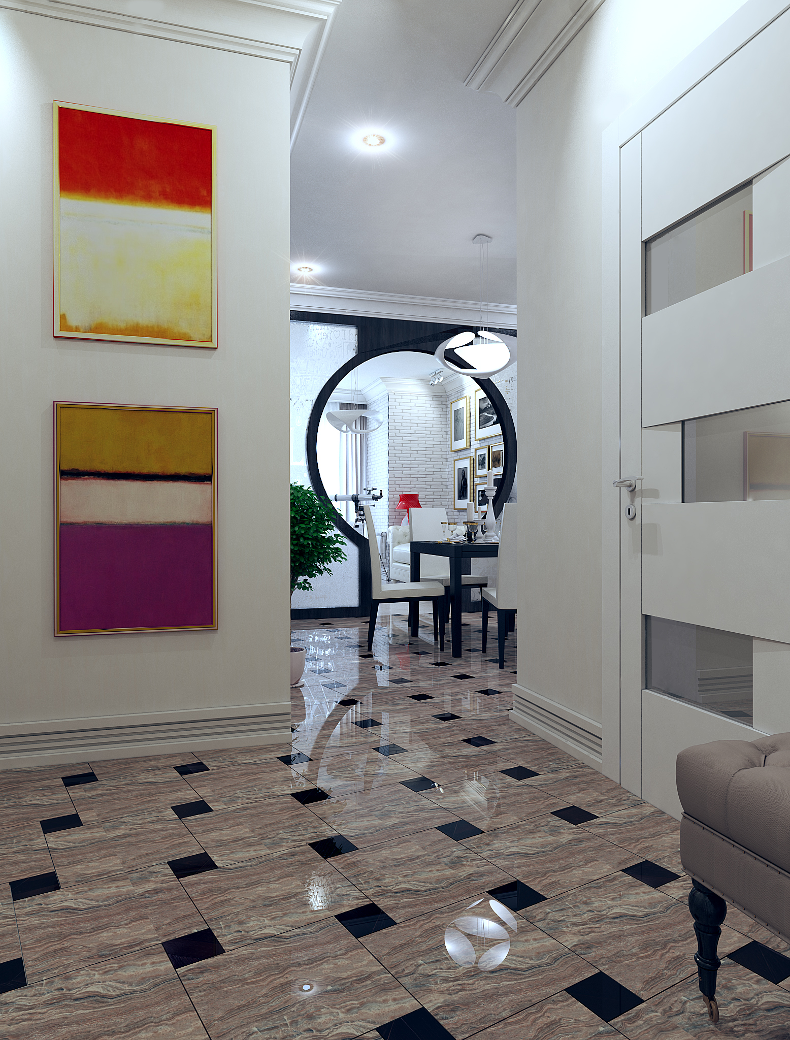 Дизайн коридора в брежневке дизайн