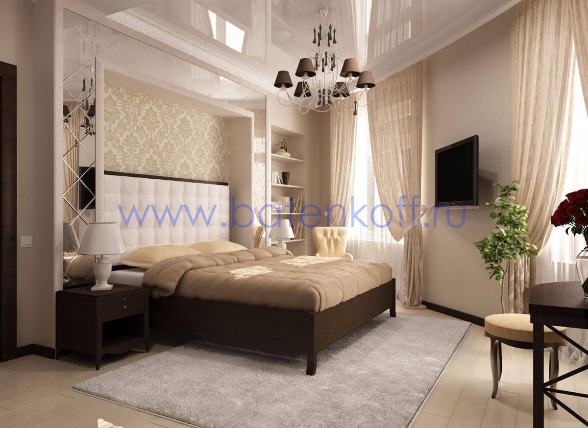 Дизайн двухкомнатной квартиры в английском стиле