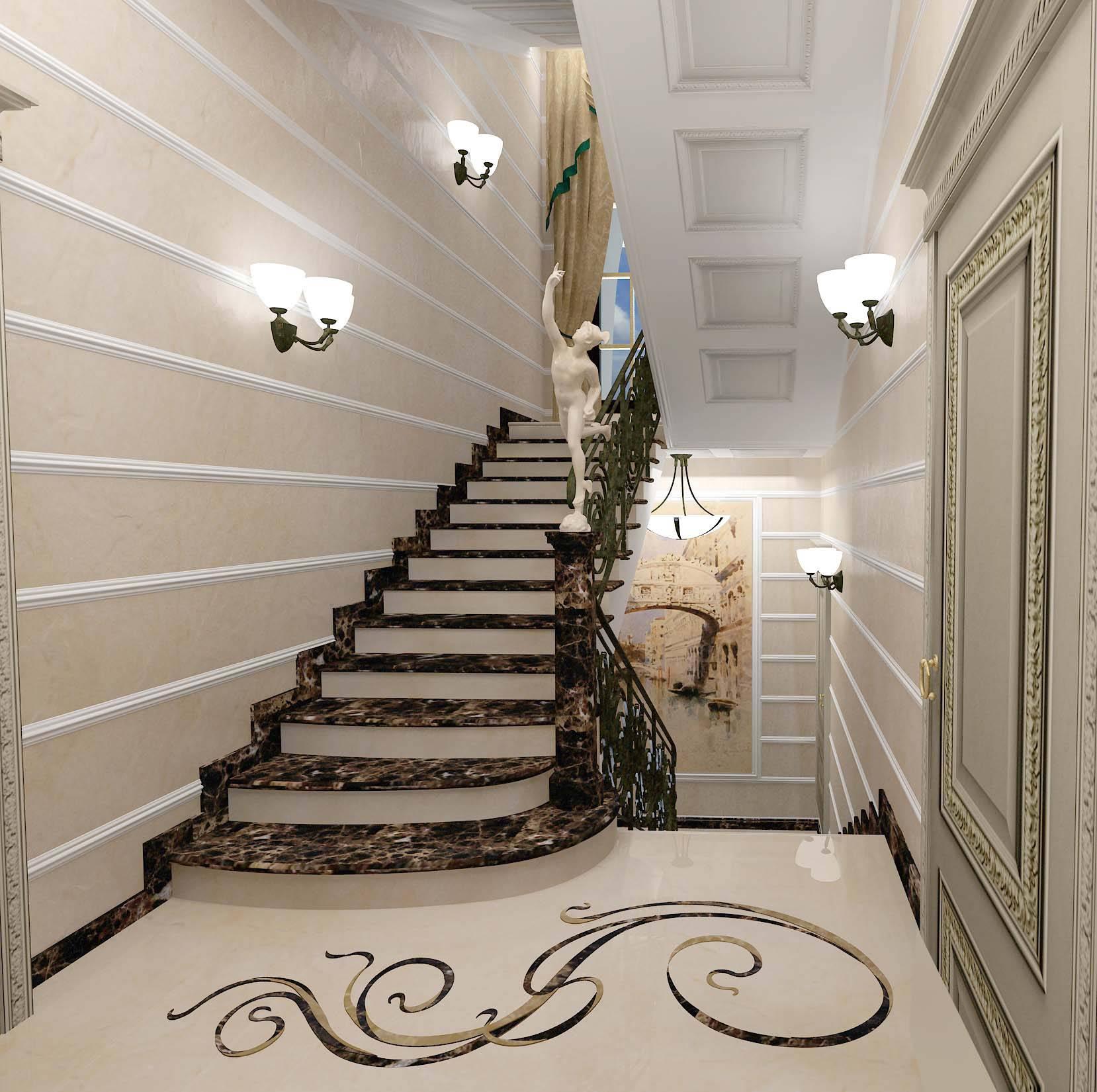 дизайн интерьера частного дома 5