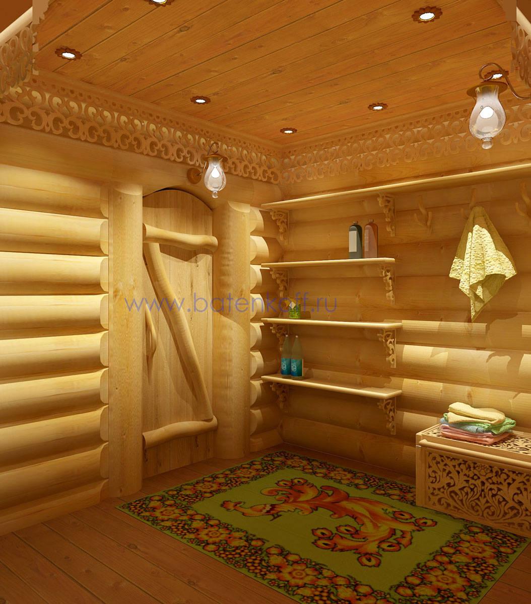 Дизайн русской бани внутри фото 194