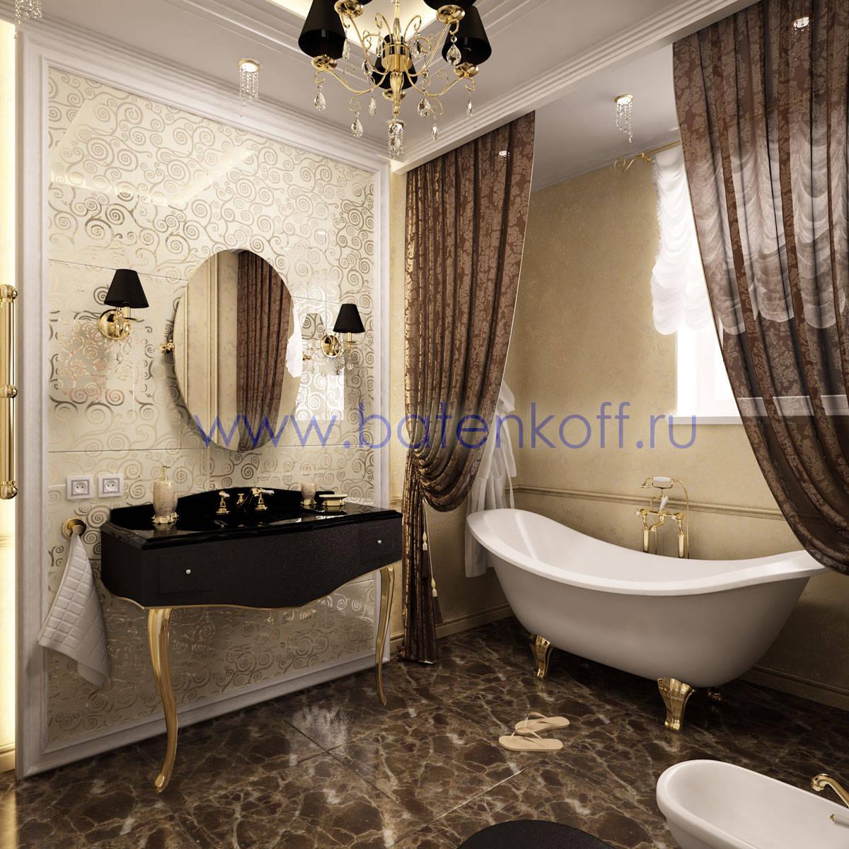 Проект интерьеров ванной комнаты Душевой уголок GuteWetter Practic Rectan GK-403 левая 90x70 см стекло бесцветное, профиль матовый хр