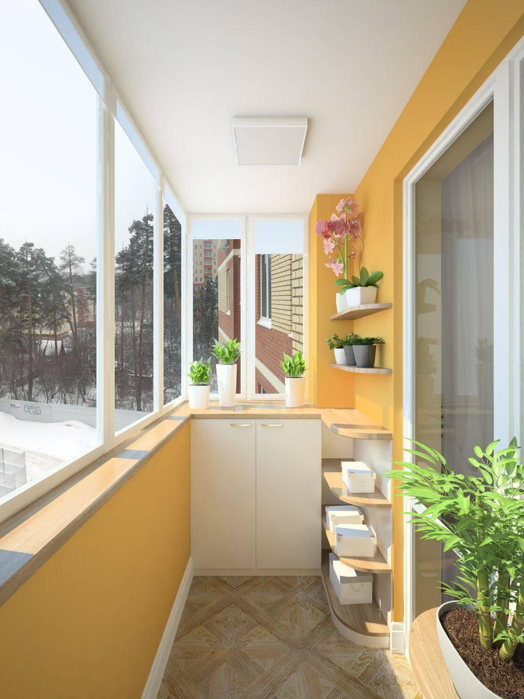 Проект: балкон в квартире в пос.юбилейный - екатерина паршин.
