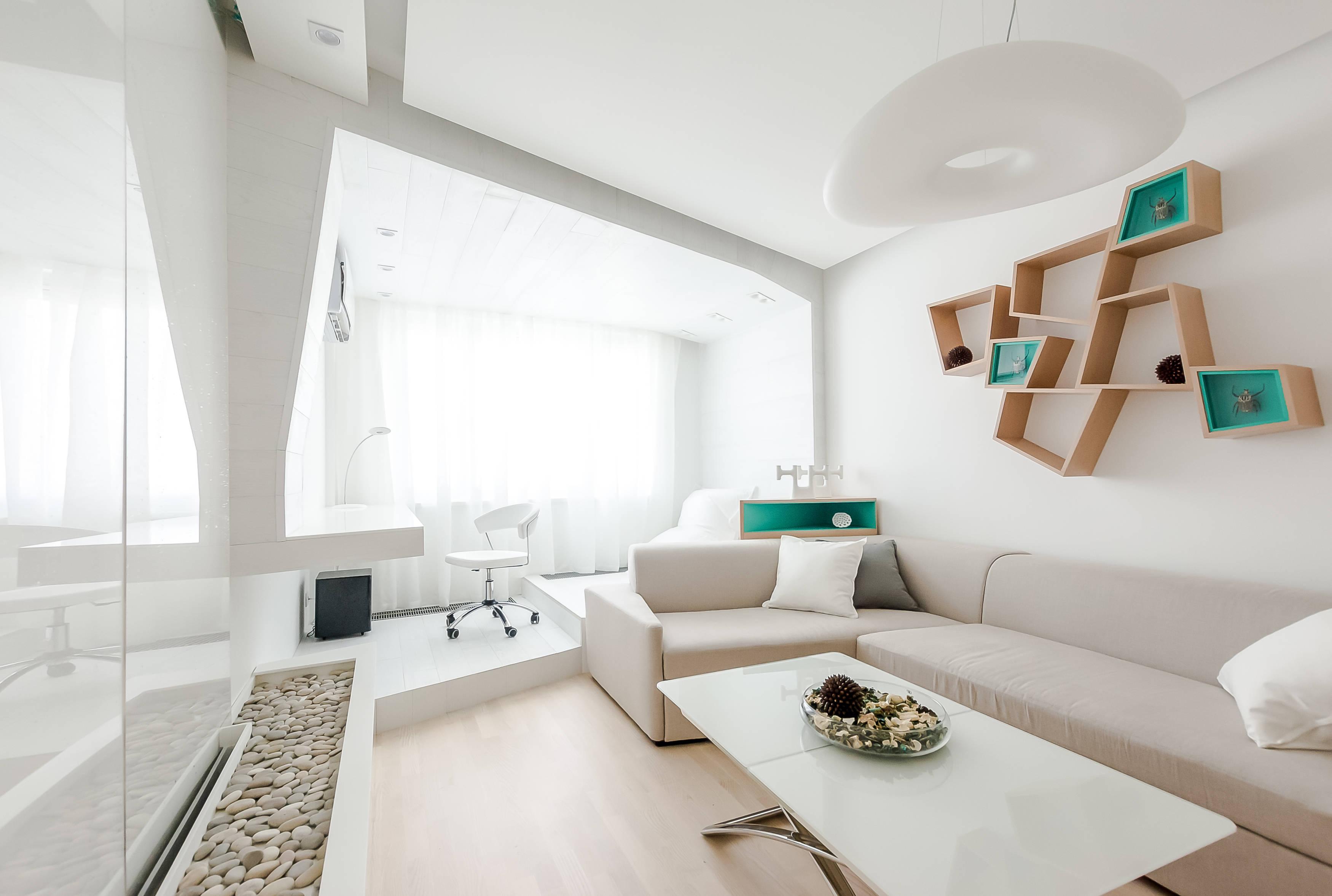 Дизайн проект гостиной от квартирного вопроса