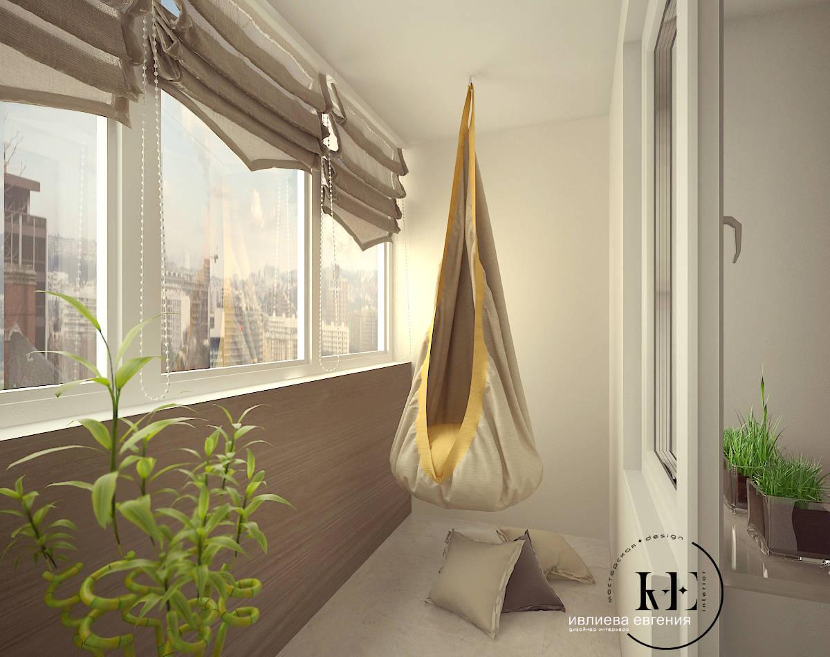 Tерраса photos: балкон в стиле минимализм от мастерской ive .