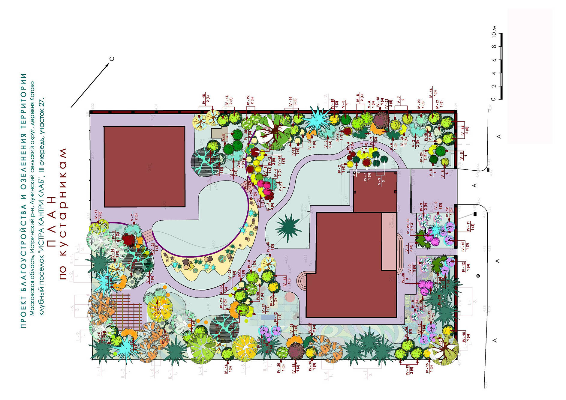 Дизайн проекты участков 15 соток