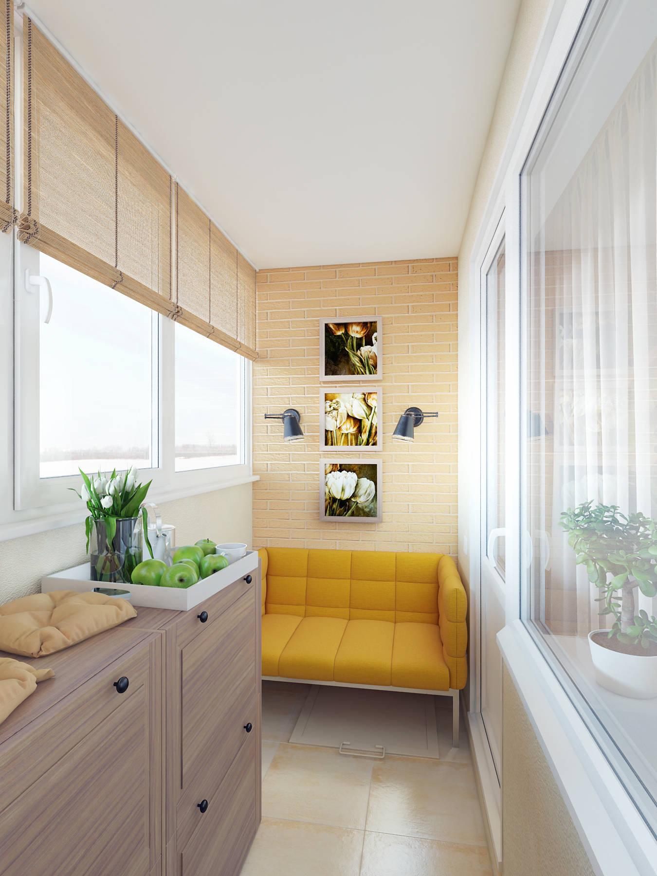 Балкон с диваном. балкон в бежевом цвете.#justhome #джастхоу.