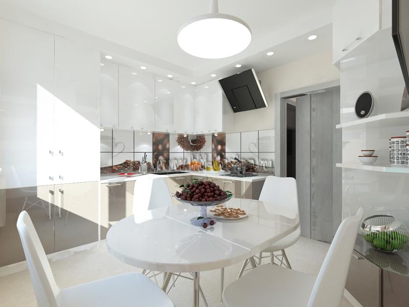 дизайн квартиры 2 комнатной квартиры 60 кв.м фото