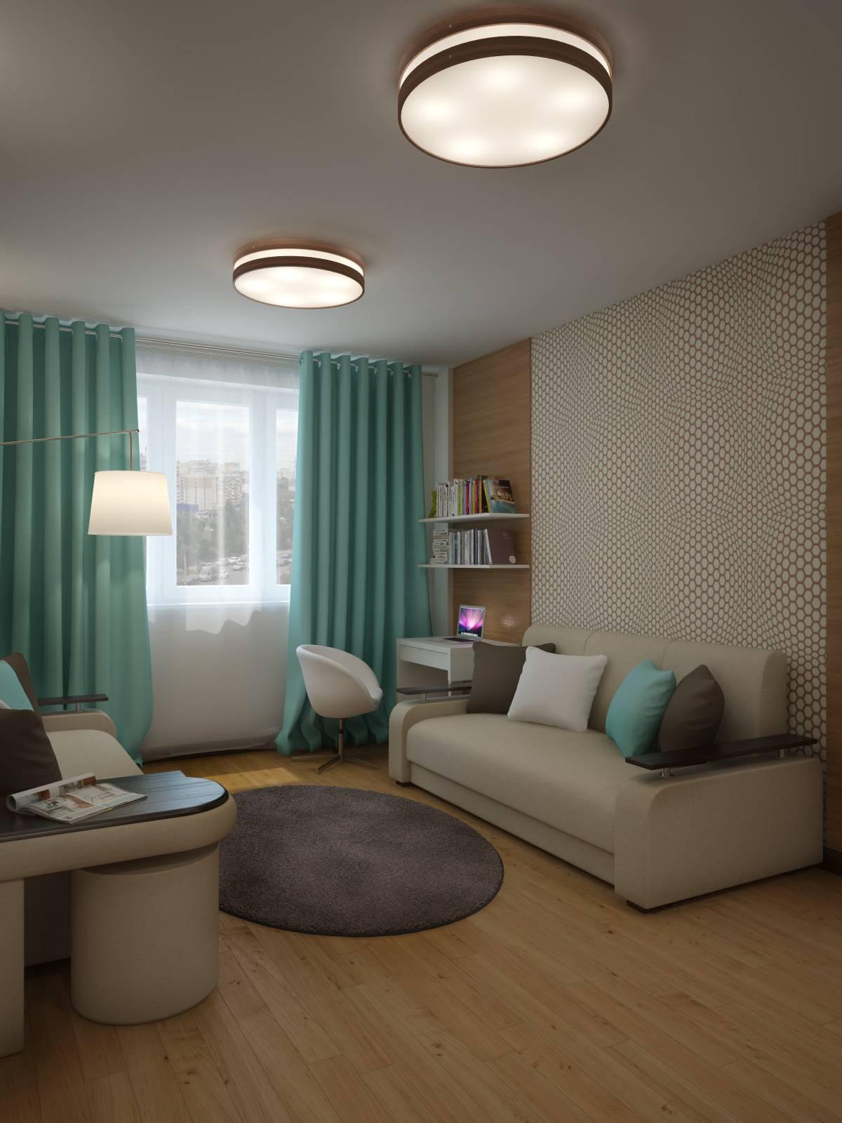 Дизайн типовых двухкомнатных квартир