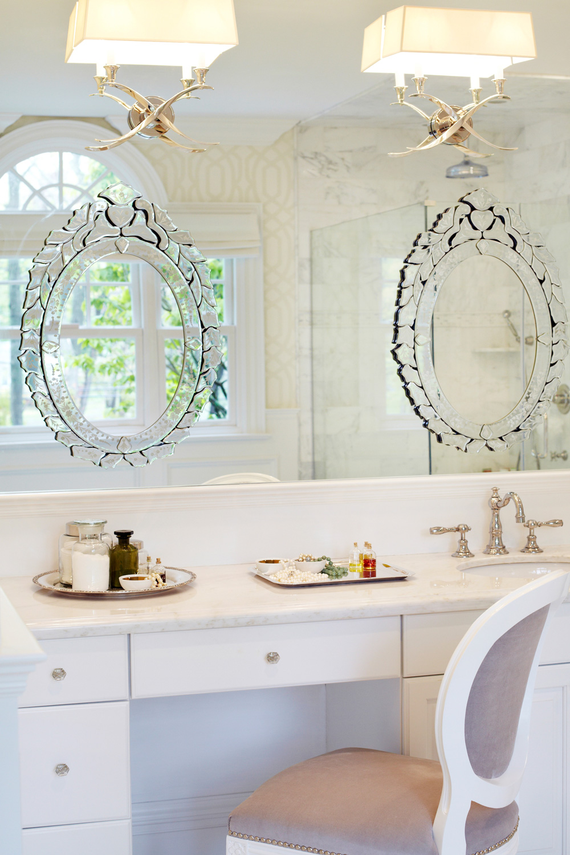 New bathroom fixtures
