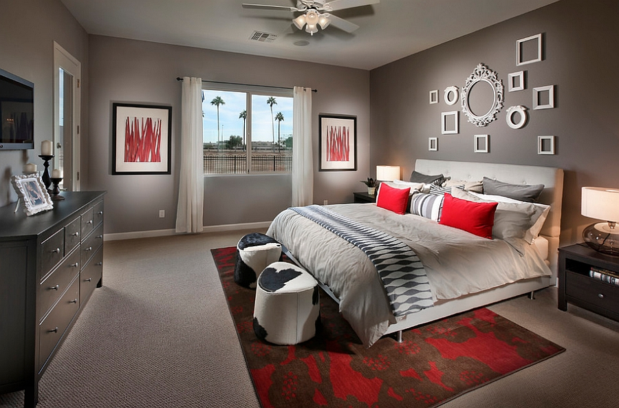 23 Bedrooms That Bring Home the Romance of Red  Decoist